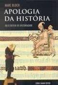 Capa do livro Apologia da História