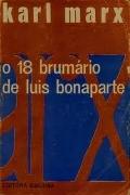 capa do livro 18 Brumário de Luis Bonaparte