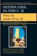Capa do livro História Geral da África: África do século VII ao XI V. 3.