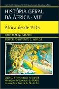 Capa do livro História Geral da África: África desde 1935 V. 8.