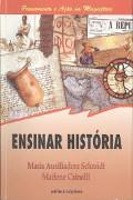 Capa do livro ensinar história