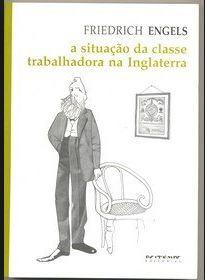 Capa do livro a situação da classe trabalhadora na Inglaterra