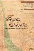 Capa do livro temas e questões para o ensino de História do Paraná