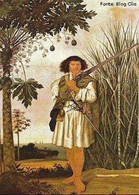 Albert van der Eckhout a convite do governador-geral do Brasil holandês, Maurício de Nassau, viveu no Brasil, onde permanece entre 1637 e 1644. Nesse período Eckhout realizou sua principal obra, composta de oito representações em tamanho natural de habitantes locais e doze naturezas-mortas de frutas tropicais. Essa coleção, com que, em 1654, Maurício de Nassau presenteou seu primo Frederico III, rei da Dinamarca, pertence hoje ao Museu Nacional da Dinamarca. <br><br/> Palavras-chave: relações culturais, arte, expedição, Brasil, paisagens, escravidão, retratos.