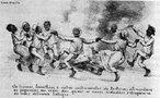 Imagem de Angelo Agostini, publicada na Revista Ilustrada em 1888. <br></br> Palavras-chave: relações culturais, imprensa, Brasil, fotografia, escravidão, abolição.