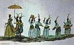 Johann Moritz Rugendas veio para o Brasil em 1821, integrando a Expedição Langsdorff como desenhista e documentarista. Em 1824, viajou para Minas Gerais e registrou paisagens, cenas de costumes e o trabalho escravo. Na volta, abandonou a expedição.. Passou por Mato Grosso, Bahia e Espírito Santo, retornou ao Rio de Janeiro e seguiu para a Europa. Em 1845, retornou ao Rio de Janeiro e pintou retratos de D. Pedro II, da Imperatriz Tereza Cristina e do Príncipe D. Afonso. No ano seguinte, partiu definitivamente para a Europa. Por motivos financeiros cedeu sua coleção de desenhos e aquarelas ao Rei Ludwig I, da Baviera, em troca de uma pensão anual. <br></br> Palavras-chave: relações culturais, arte, expedição, Brasil, paisagens, escravidão, retratos.