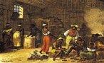 Johann Moritz Rugendas veio para o Brasil em 1821, integrando a Expedição Langsdorff como desenhista e documentarista. Em 1824, viajou para Minas Gerais e registrou paisagens, cenas de costumes e o trabalho escravo. Na volta, abandonou a expedição. Passou por Mato Grosso, Bahia e Espírito Santo, retornou ao Rio de Janeiro e seguiu para a Europa. Em 1845, retornou ao Rio de Janeiro e pintou retratos de D. Pedro II, da Imperatriz Tereza Cristina e do Príncipe D. Afonso. No ano seguinte, partiu definitivamente para a Europa. Por motivos financeiros cedeu sua coleção de desenhos e aquarelas ao Rei Ludwig I, da Baviera, em troca de uma pensão anual. <br></br> Palavras-chave: relações culturais, arte, expedição, Brasil, paisagens, escravidão, retratos.