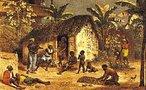 Johann Moritz Rugendas veio para o Brasil em 1821, integrando a Expedição Langsdorff como desenhista e documentarista. Em 1824, viajou para Minas Gerais e registrou paisagens, cenas de costumes e o trabalho escravo. Na volta, abandonou a expedição. Passou por Mato Grosso, Bahia e Espírito Santo, retornou ao Rio de Janeiro e seguiu para a Europa. Em 1845, retornou ao Rio de Janeiro e pintou retratos de D. Pedro II, da Imperatriz Tereza Cristina e do Príncipe D. Afonso. No ano seguinte, partiu definitivamente para a Europa. Por motivos financeiros cedeu sua coleção de desenhos e aquarelas ao Rei Ludwig I, da Baviera, em troca de uma pensão anual. <br></br> Palavras-chave: relações culturais, expedição, Brasil, paisagens, escravidão, retratos.