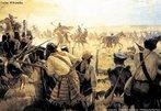 Também chamada de Revolução Farroupilha, foi uma guerra regional, de caráter republicano contra o Governo Imperial do Brasil . Teve seu início em 1835 se estendendo até 1845, no Rio Grande do Sul. <br></br> Palavras-chave: Revolução Farroupilha, Governo Imperial, Rio Grande do Sul.