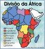 Mapa que apresenta a divisão dos territórios africanos em áreas de colonização. A chamada partilha da África aconteceu em 1884 e 1885 na Conferência de Berlim.<br><br/> Palavras-chave: relações de poder, relações culturais, dominação, potências europeias, capitalismo monopolista.