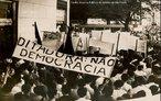 Confronto entre estudantes e a polícia durante a ditadura militar.<br><br/>  Palavras-chave: ditadura militar, movimentos sociais, movimento estudantil, relações de poder.