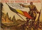 Cartaz de propaganda de guerra belga da Primeira Guerra Mundial. <br><br/> Palavras-chave: relações de produção, trabalho, poder, cultura, Bélgica, Primeira Guerra Mundial, propaganda, recrutamento.