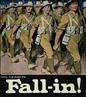 Cartaz de propaganda de guerra canadense da Primeira Guerra Mundial. <br><br/> Palavras-chave: Canadá, Primeira Guerra Mundial, propaganda, recrutamento.