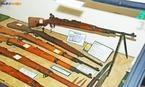 Armas utilizadas na Segunda Guerra Mundial, exemplares expostos no Museu do Expedicion�rio em Curitiba - Paran�. <br></br> Palavras-chave: rela��es de poder, For�as Armadas, Ex�rcito Brasileiro, For�a Expedicion�ria Brasileira, Armas, Museu do Expedicion�rio, Curitiba, Paran�.