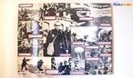 Mural de fotos da FEB na Segunda Guerra Mundial, exemplar exposto no Museu do Expedicion�rio em Curitiba - PR. <br><br/> Palavras-chave: rela��es de poder, Estado, For�as Armadas, Ex�rcito Brasileiro, guerra, For�a Expedicion�ria Brasileira, nazismo, fascismo, Nacional Socialismo, Museu do Expedicion�rio, Curitiba, Paran�.