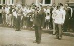 Marechal Humberto de Alencar Castelo Branco foi o primeiro presidente do regime militar instaurado pelo golpe militar de 1964.<br><br/> Palavras-chave: relações de poder, poder executivo, governo, ditadura, Brasil.