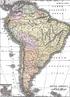 No século XIX a América do Sul vivenciou um massivo processo de independências. A maior parte dos países tornaram-se nações livres. Este mapa mostra como era a divisão política no fim deste século. <br><br/> Palavras-chave: mapa, América do Sul, independências, século XIX.