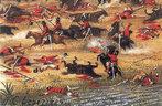 Guerra do Paraguai - Batalha de Tuiuti: As forças aliadas acamparam nos pântanos de Tuyuti, em 20 de maio, onde sofreram um ataque paraguaio quatro dias depois. A primeira batalha de Tuiuti, a maior batalha campal da história da América do Sul e uma das mais importantes e sangrentas do conflito, foi vencida pelos aliados em 24 de maio de 1866 e deixou um saldo de 10.000 mortos. <br><br/> Palavras-chave: relações de poder, Estado, Guerra do Paraguai, Batalha de Tuiuti, América do Sul, Brasil, Paraguai, Argentina, Uruguai.