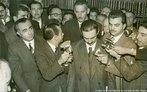 Jânio da Silva Quadros foi o vigésimo segundo presidente do Brasil, entre 31 de janeiro de 1961 e 25 de agosto de 1961 momento que renunciou, alegando que forças ocultas o obrigavam a esse ato.<br><br/> Palavras-chave: relações de poder, poder executivo, governo, república, Brasil.